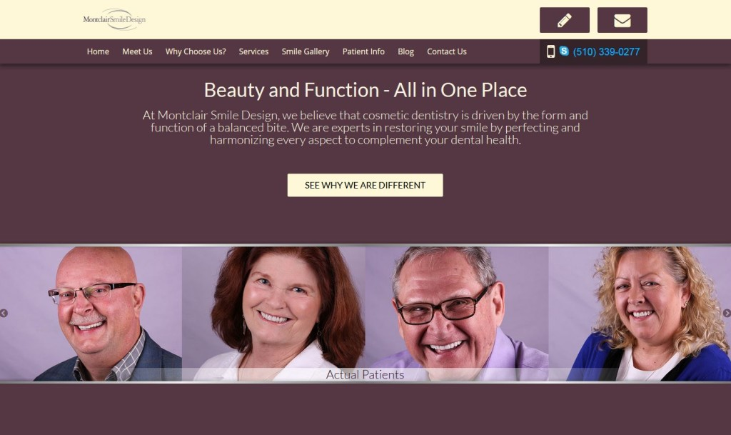 Oakland dentist new website launched.