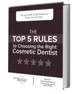Top 5 rules to choosing the right cosmetic dentist preview graphic